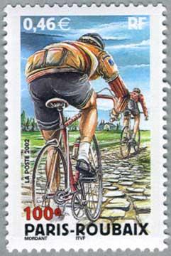 パリ、ルーベ間自転車競技大会100年