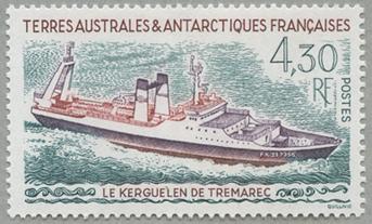船「Kerguelen de tremarec」