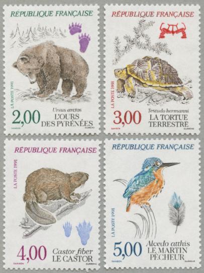 フランスの自然(保護動物)