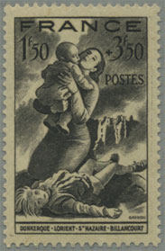 連合軍による爆撃被害者救済
