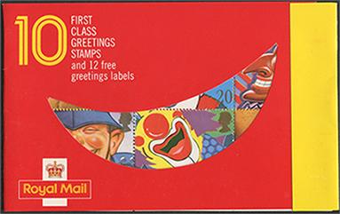 1990年スマイラーズ切手帳