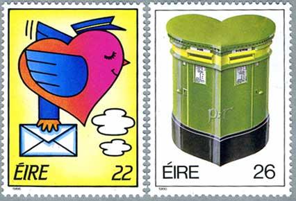 アイルランド1986年Love2種