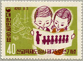 1960年新教育75年