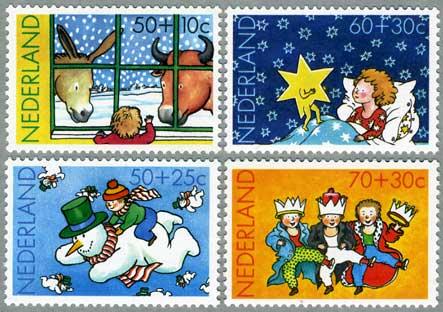 1983年子供のクリスマス4種