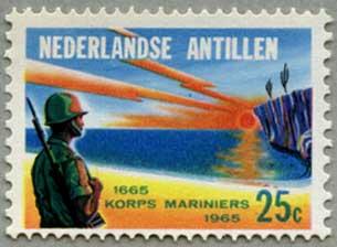 オランダ領アンチル諸島1965年オランダ海兵隊300年