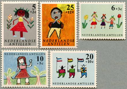 1963年児童画5種