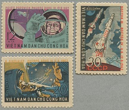 1962年ボストーク3号、4号3種