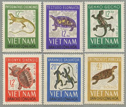 1965年昆虫6種