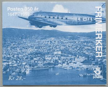 郵便350年 切手帳