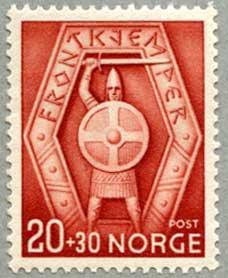ノルウェー1943年国境軍兵のエンブレム