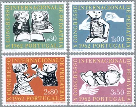 ポルトガル1962年小児会議4種