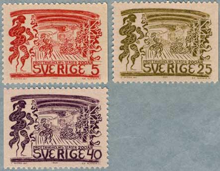 スウェーデン1966年ドロットニングホルム劇場200年