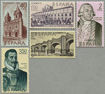 1969年チリの開拓と発展5種