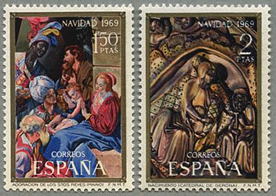 1964年切手の日3種