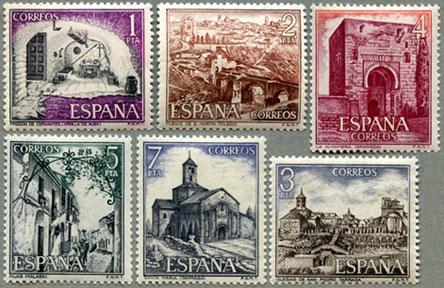スペイン1975年観光6種