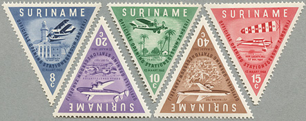 1960年Zanderij空港開港5種