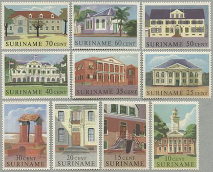 1961年建物10種