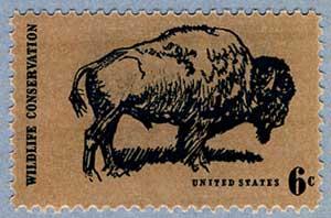 アメリカ1970年 野生動物保護(バッファロー)