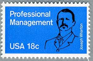 アメリカ1981年 専門管理職(J.ワートン実業家)