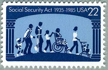 アメリカ1985年 社会保障法50年
