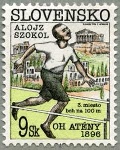 スロバキア1996年オリンピック100年