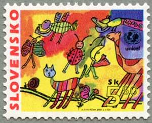 スロバキア2000年ユニセフ