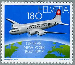 スイス 1997年スイス航空北大西...
