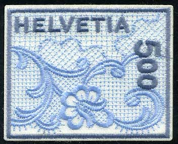 スイス2000年ザンクトガレンの刺繍