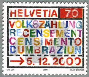 スイス2000年国勢調査2000