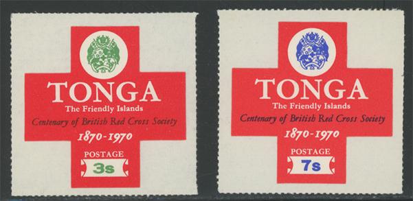 トンガ 英国赤十字100年2種