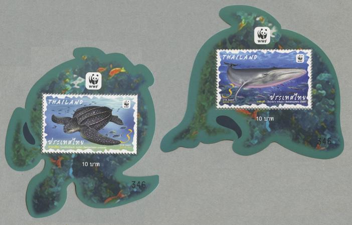 海洋生物小型シート2種
