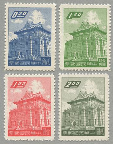 金門呂光楼郵票