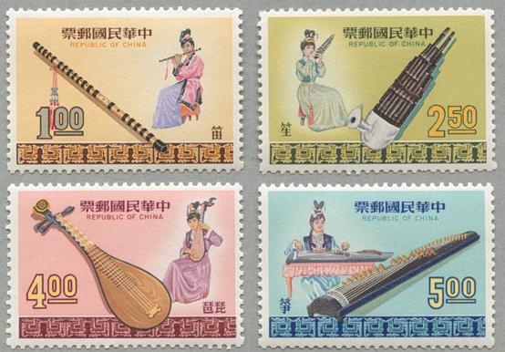 民族楽器4種