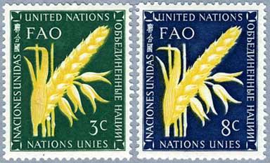 国連1954年麦穂2種
