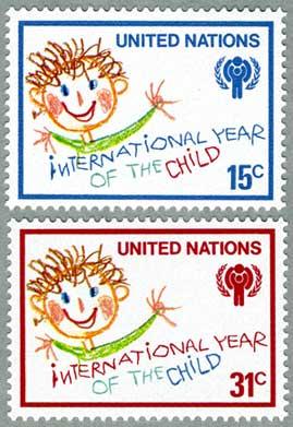 国連1979年国際児童年2種