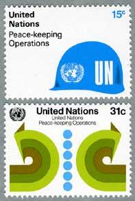 国連1980年平和維持活動2種