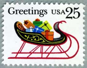 アメリカ1989年クリスマスそり