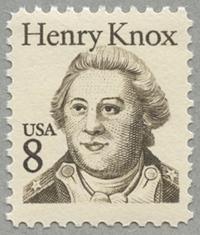 初代陸軍長官ヘンリー・ノックス