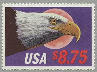 1988年月とワシ額面8.75ドル