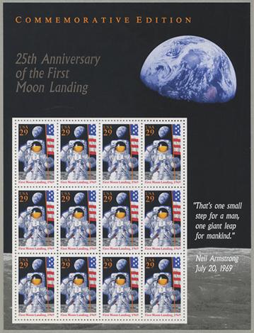 月面着陸25周年