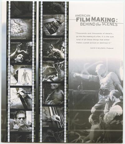 アメリカの映画制作 シート