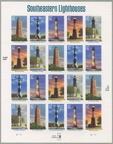 南東部の灯台シート