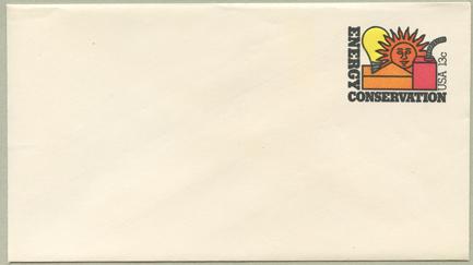 切手付封筒 エネルギーの保護