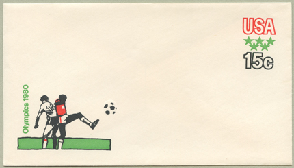 切手付封筒 オリンピック