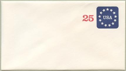 切手付封筒 13星(サイズ小)