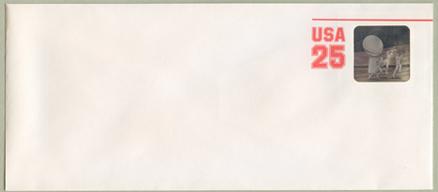 切手付封筒 アメフトホログラム