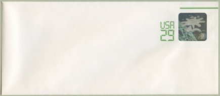 切手付封筒 宇宙開発ホログラム29c