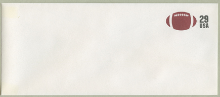 切手付封筒 アメフト
