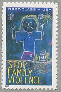 付加金付き切手家庭内暴力禁止