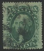 1859年10cワシントン